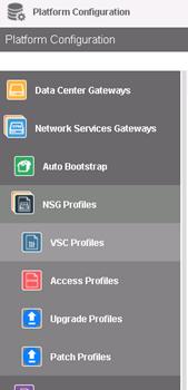Attaching VSC to the SD-WAN gateway