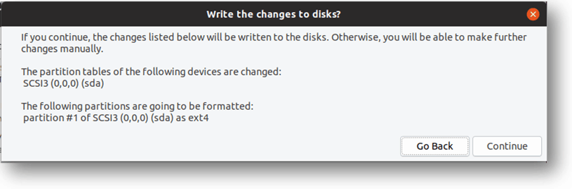 ubuntu vm install wizard