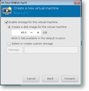 define the windows 10 qemu storage and cpu