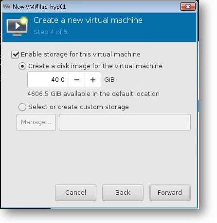define the windows 10 qemu storage and cpu
