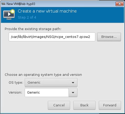 installing nuage NSG vm