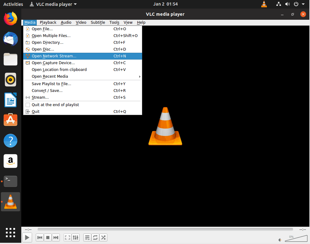 vlc stream desktop local network