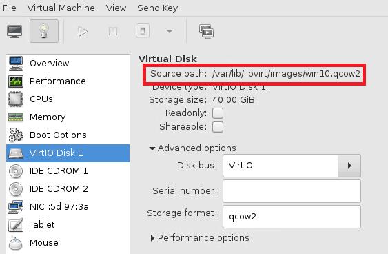 libvirt windows vm extend c drive