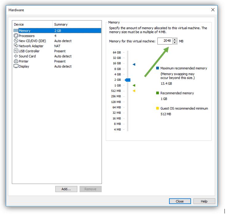 centos vmware install
