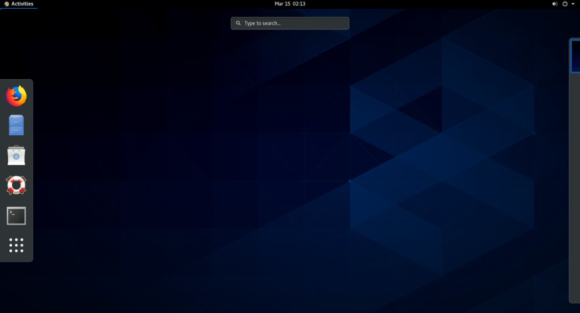 centos 8 installation on vmware workstation
