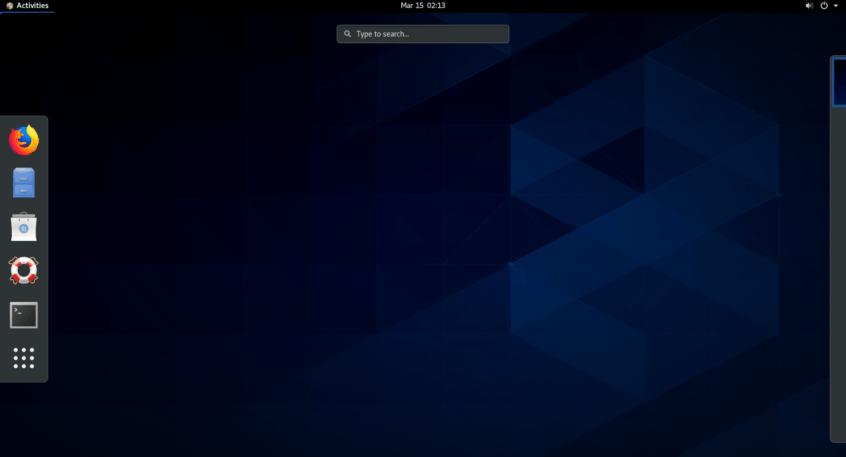 centos 8 installation on vmware workstation