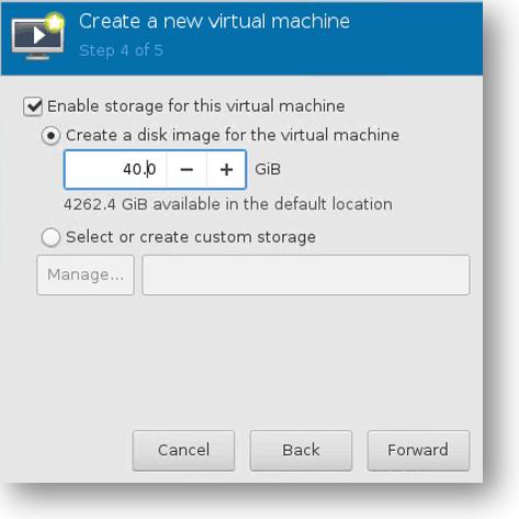 qemu kvm ubuntu configure harddisk