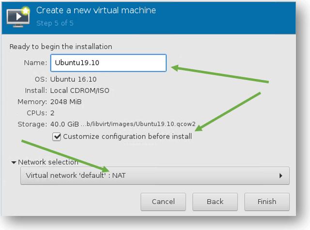 install ubuntu on kvm hypervisor