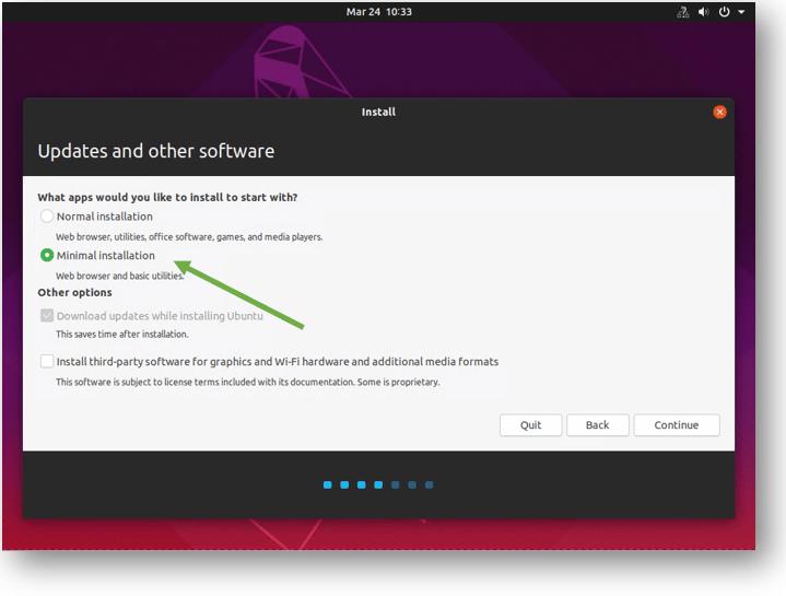 install ubuntu desktop on kvm