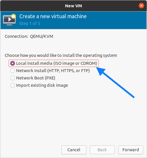 kvm install windows 2019