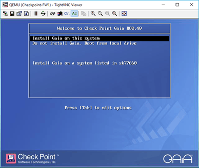 checkpoint firewall management appliance