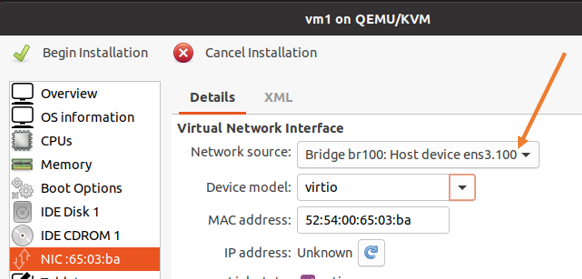 netplan bridge kvm