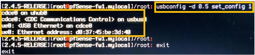 pfsense usb ethernet not detected