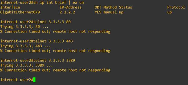 pfsense port forward multiple ip not responding.