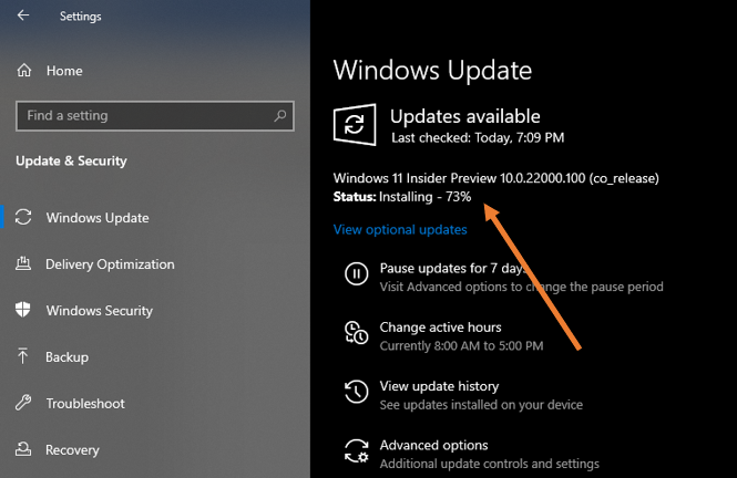install windows 11 on windows 10