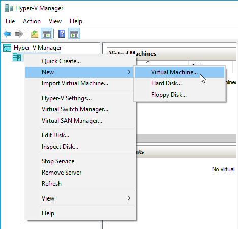 Creation of ubuntu vm in hyper-v