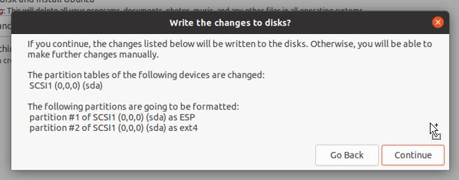 format the virtual hard drive