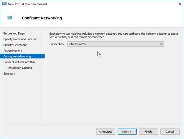 hyper-v ubuntu configure the network